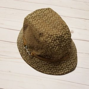 Coach Hat Brown bucket